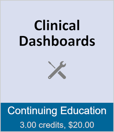 Clinical Dashboards (full course)