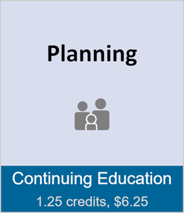 Planning (full course)