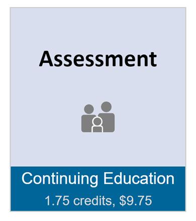 Assessment (full course)