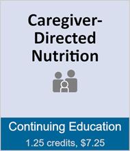 Caregiver-Directed Nutrition (full course) CAREDNFULC12