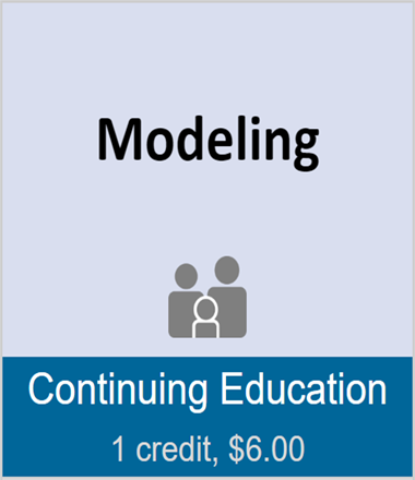 Modeling (full course)