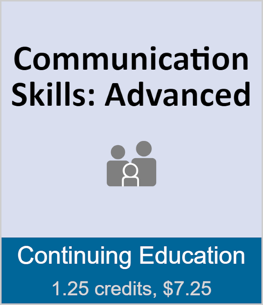 Communication Skills: Advanced (full course)