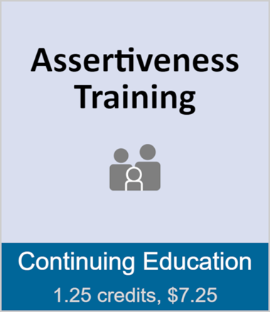 Assertiveness Training (full course)