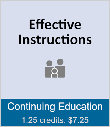 Effective Instructions (full course)